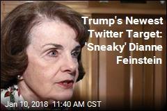 Feinstein Gets Trump Nickname: 'Sneaky'