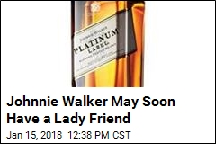 Johnnie Walker May Soon Have a Lady Friend