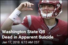 Washington State QB Dead in Apparent Suicide
