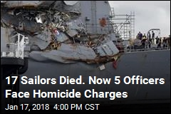 Navy Officers Face Negligent Homicide Charges in Collisions
