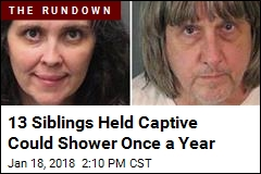13 Siblings Held Captive Could Shower Once a Year
