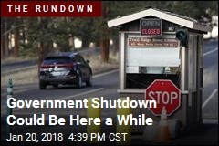 Government Shutdown Could Be Here a While