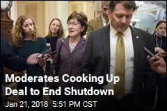 Moderates Cooking Up Deal to End Shutdown