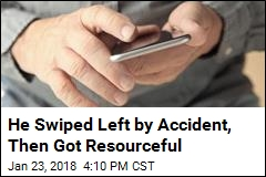 He Swiped Left by Accident, Then Got Resourceful