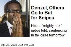 Denzel, Others Go to Bat for Snipes