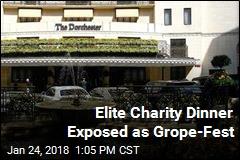 Men-Only Black-Tie Dinner Exposed as Grope-Fest
