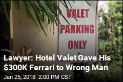 Lawyer: Hotel Valet Gave His $300K Ferrari to Wrong Man