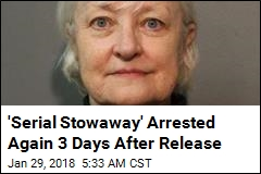 'Serial Stowaway' Busted at Airport 3 Days After Release