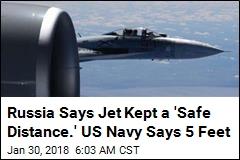 Russian Jet Buzzed US Spy Plane in 'Unsafe Intercept'