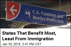 10 States Given Biggest Boost by Immigration