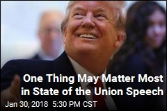 Things to Watch in Trump's State of the Union