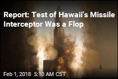 Report: Test of Missile Interceptor Was a Flop