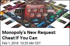 New Monopoly Edition Encourages Cheating