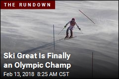Ski Great Is Finally an Olympic Champ