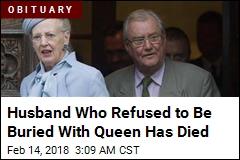 Danish Queen's Husband Dead at 83