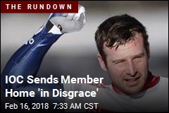 IOC Sends Member Home 'in Disgrace'