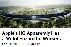 Apple's HQ Apparently Has a Weird Hazard for Workers