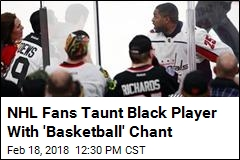 NHL Team Boots Fans Who Taunted Black Player