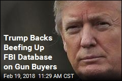 WH: Trump Backs Better Background Checks on Guns