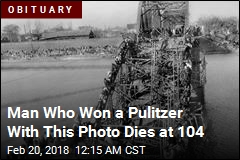 Man Who Won a Pulitzer With This Photo Dies at 104