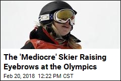 The 'Mediocre' Skier Raising Eyebrows at the Olympics