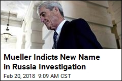 Mueller Indicts New Name in Russia Investigation