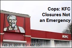 Hungry Brits Call Cops Over KFC Closures