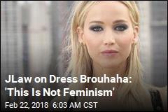 Jennifer Lawrence Blasts 'Sexist' Dress Critique