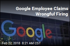 Google Employee Claims Wrongful Firing