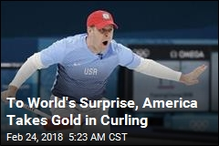 Americans Stun, Take Gold in Curling