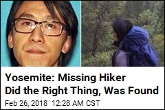 Missing Hiker Found in Yosemite After 6 Days