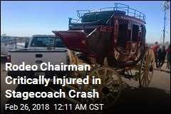 Rodeo Chairman Critically Injured in Stagecoach Crash