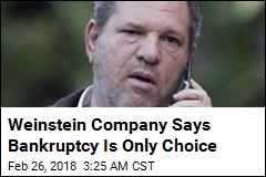 Weinstein Company Headed for Bankruptcy