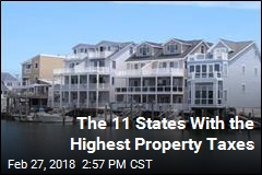 The 11 States With the Highest Property Taxes