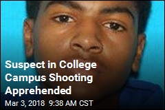 Suspect in College Campus Shooting Apprehended