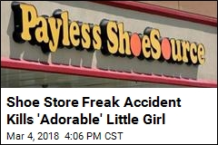 Falling Mirror Kills Girl, 2, at Shoe Store