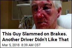 Cops Seek Guy in Road-Rage Beating of Elderly Man
