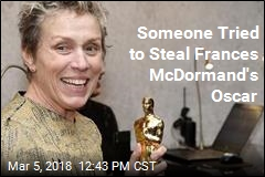 Guy Who Allegedly Stole McDormand's Oscar Busted