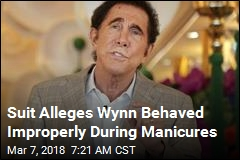 Suit Alleges Wynn Behaved Improperly During Manicures