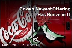 Coke's Newest Offering Has Booze in It
