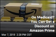 Amazon Offers Prime Discount to People on Medicaid