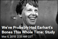 Study: Amelia Earhart's Bones Very Likely Found 78 Years Ago