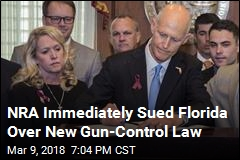 NRA Files Lawsuit Over Florida Gun-Control Law