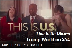 This Is Us Meets Trump World on SNL