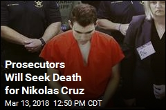 Prosecutors Will Seek Death for Nikolas Cruz