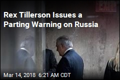 Rex Tillerson Issues Parting Warning on Russia