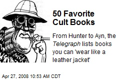50 Favorite Cult Books