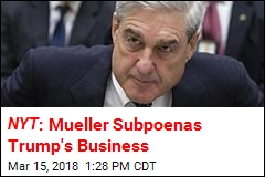 NYT : Mueller Subpoenas Trump's Business