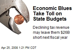 Economic Blues Take Toll on State Budgets