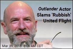 Outlander Actor: United Crew Joked About Dogs in Overhead Bins